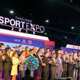 เข้าร่วมจัดแสดงนวัตกรรมภายในงาน Thailand  Sport Expo 2019